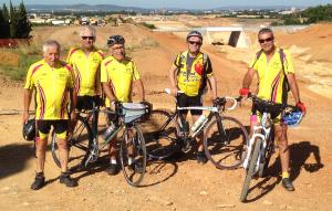Équipement 2015 pour le club Cyclo