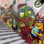 le MUCEM et la Cité Radieuse -Street art dans les rues du quartier du Panier