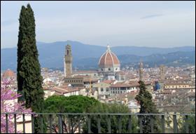 Une belle vue de la région de Toscane